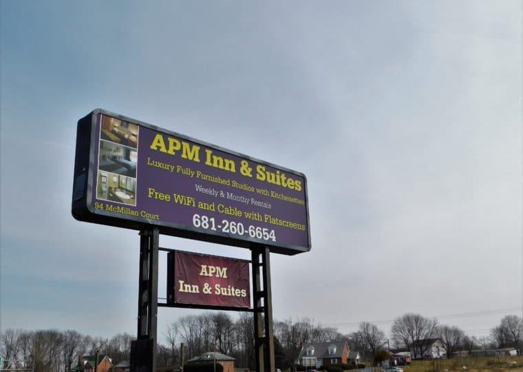 APM Mart Sign